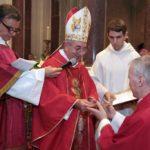 La benedizione abbaziale di don Franco Bergamin